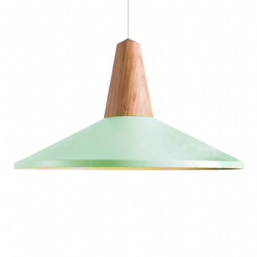 Eikon Shell Pendant Ceiling Lights, Type A Green